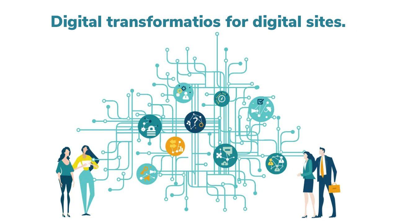 Digital transformatiob for digital sites.